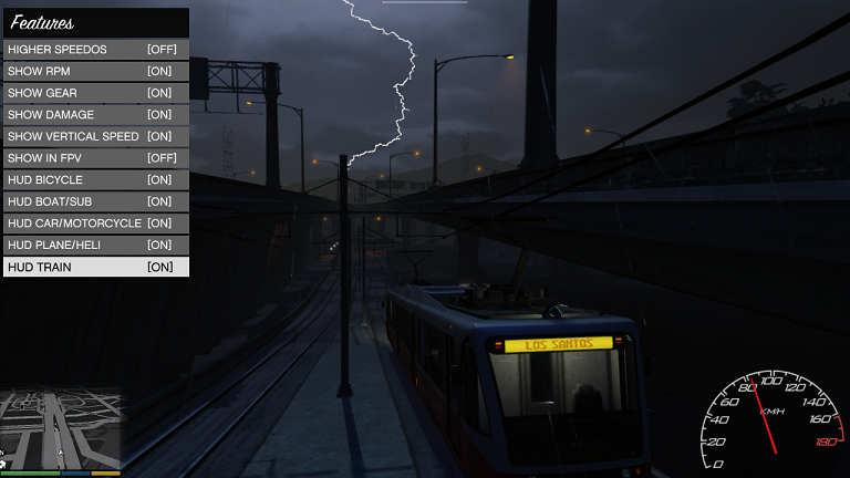 给GTA5游戏装上一个可以自定义的速度表